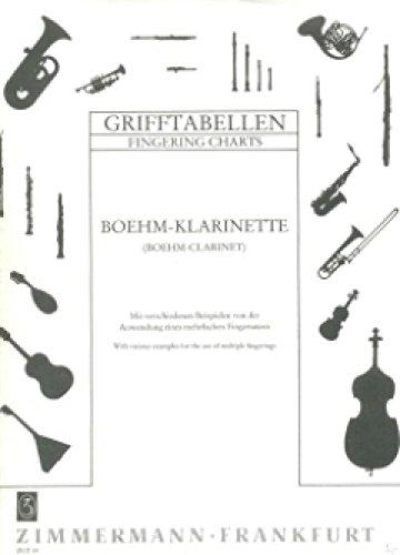 Grifftabelle Klarinette Boehm System