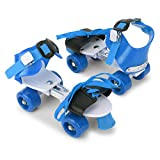 CADDLE & TOES Basics Adjustable Roller Skates 4 Wheel Skating Shoes for Kids Age Group 5-12 Years...