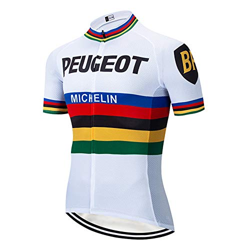 Maillot Ciclismo Hombre Verano Transpirable Ropa Ciclismo Hombre Verano Equipo Profesional