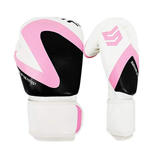 Guantes de boxeo para hombres mujeres Cuero de los guantes d
