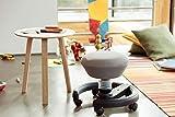 aeris Swoppster New Edition ergonomischer Schreibtischhocker für Kinder – Drehstuhl für dynamisches Sitzen und einen gesunden Rücken – 32-47,5 cm Sitzhöhe (stufenlos höhenverstellbar) - 3