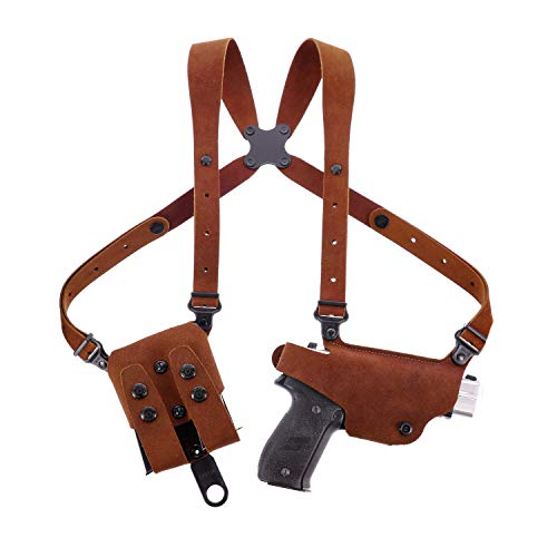 Galco Classic Lite 2.0 RH Shoulder Holster Compatible with Glock 17 19...