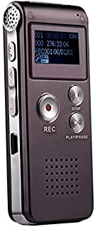 Player Sunzimeng SK-012 8GB Voice Recorder USB Professional Dictaphone Digital Audio with WAV MP3 Player VAR Function Record(Black) (Color : Purple)