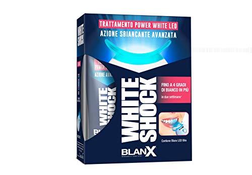 BLANX White Shock Trattamento con LED Bite, Blu, 30 Millilitri, 130 Grammi