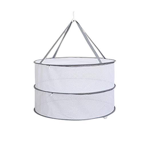GFCGFGDRG Winddichtes Wäschetrockner Pullover Hängende Wäschetrockner Netz-Ineinander greifen Wäschekorb Mesh-Folding Wäschetrockner Net Unterwäsche Socken Lagerung Hanger