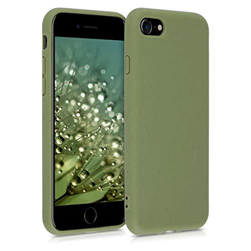kalibri Hülle kompatibel mit Apple iPhone 7/8 / SE (2020) - Handyhülle - Handy Hülle in Olivgrün