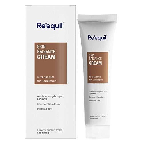 Glamorous Hub RE 'EQUIL Skin Radiance Cream que ayuda a reducir la hiperpigmentación manchas oscuras manchas de la edad melasma 30g