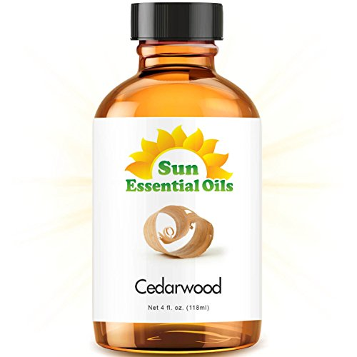 Cedarwood Essential Oil (Huge 4oz Bottle) Bulk Cedarwood Oil - 4 Ounce