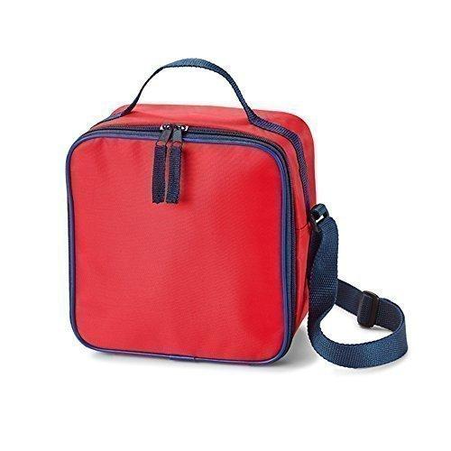 eBuyGB 12865 koeltas kinderen lunch eten en drankjes koeler tas voor school kinderen kind (rood)