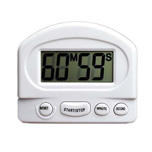 Temporizador de la cuenta regresiva de cronómetro Temporizador de cocina Temporizador digital Temporizador de la cocina magnética Aparcamiento magnético Temporizador de cronómetro con alarma fuerte