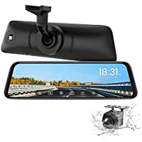 AUTO-VOX T9 9.35 Inch Stream Media Full Touch Screen Backup Camera