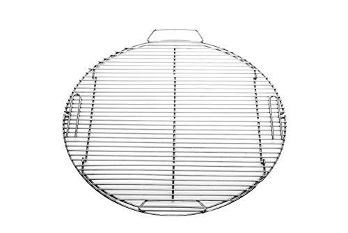 RÖSLE Grillrost, Hochwertiger Grillrost aus Edelstahl 18/10 passend für No.1 F60/F60 AIR, klappbar, spülmaschinengeeignet