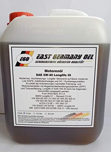 East Germany OIL Motorenöl 5W30...