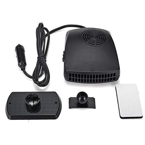 Hjiaqi - lovely Ventilador de refrigeración, Calentador de automóviles Aire Cooler Fan Pantalla de Parabrisas Demister Defroster 12V 150W