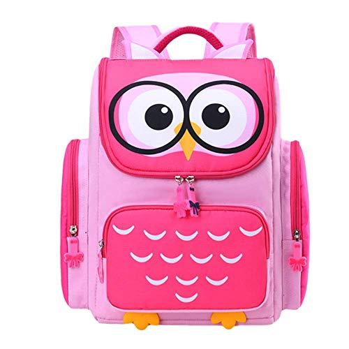 LYZJDP Backpack, Cartoon Cute School Bag 1-3-6 Grade, Widened Breathable and Wearable Backpack