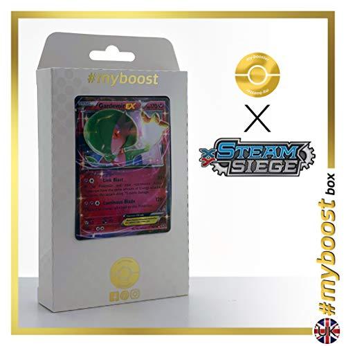 my-booster Gardevoir-EX 78/114 - Ultraboost X XY 11 Steam Siege - Coffret de 10 Cartes Pokémon Aglaises