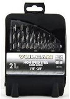 VULCAN 240660OR Bit Set HSS, 1/16-3/8