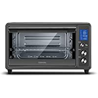 Toshiba Digital Toaster Oven with Double Infrared Heating and Speedy Convection (Black Stainless Steel)