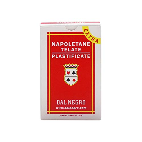 DELNEGRO CARTE NAPOLETANE N. 82 EXTRA DAL NEGRO. -014002-