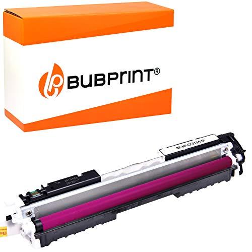 Bubprint Toner kompatibel für HP 126A CE313A für Color LaserJet Pro CP1025 CP1025NW CP1026NW CP1020 100 Color MFP M175nw M175a M175 M275 M275nw Magenta