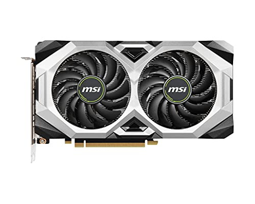 MSI GeForce RTX 2060 VENTUS GP OC Scheda Video Gaming, 6GB DDR6, 1710MHz, 14Gbps, 192 bit, 3x DP, 1x HDMI 2.0b, alimentazione 8 pin
