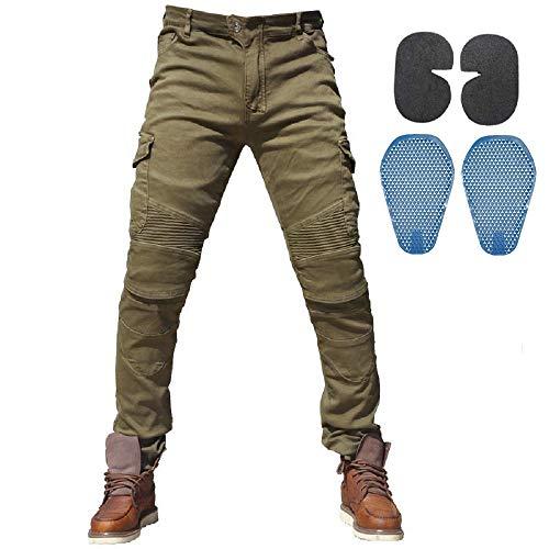 Hombres Pantalones De Motociclismo Para Pantalones De Carrer