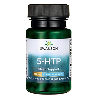 Swanson Amino Acid 5-Htp Extra Strength 100 Milligrams 60 Capsules