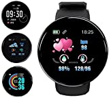 Smart Watch,Fitness Tracker Watch with Heart Rate Blood Pressure Monitor IPX65 Waterproof Bluetooth Smartwatch Sports Activity Tracker Smart Bracelet for Men Women Kids Compatible iPhone Android