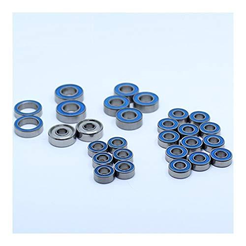 LUANAYUN-PHONE CASE Precision Axial RC Juego de rodamientos de bolas para 1/10 SCX10 II (V2) Kit y 1/10 SCX10 II (V2) RTR 28 piezas rodamientos