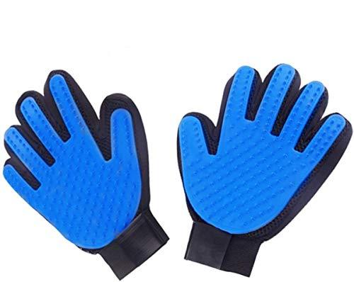 HKBTCH Pet Bürste Handschuh, 2 PCS Hochwertiger Fellpflege-Handschuh,Entfernen Hunde Und Katzenhaare Hair Für Möbel Und Kleidung,Verwendet Für Haustiere Reinigung Und Massage Schönheit