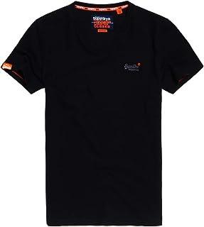 Superdry Men's Orange Label Vintage Embroidery Vee Neck Tee