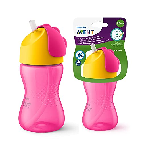 Philips Avent My Bendy Straw Cup 300ml/10oz (12M+) (Assorted)