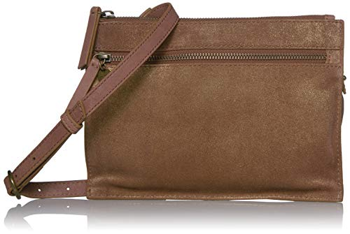 Lucky Glia Crossbody, BRANDY METAL / 210