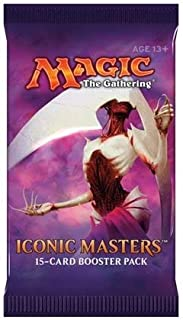 Draft Set - 3 Packs - Iconic Masters Booster Pack - MTG Magic The Gathering - On sale 11/17/2017