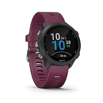 Garmin Forerunner 245 GPS Running Smartwatch Merlot Colour, One Size