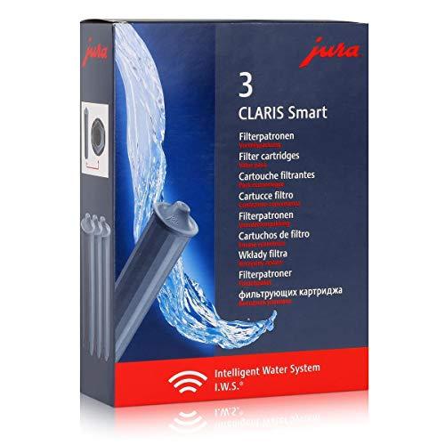 jura Wasserfilterkartusche CLARIS Smart (3 Stück), Sie erhalten 1 Packung á 3 Stück