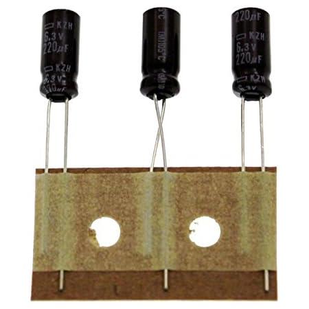 50x Elko Kondensator Radial 220µf 16v 105 C Eke00pb322d 220uf Beleuchtung