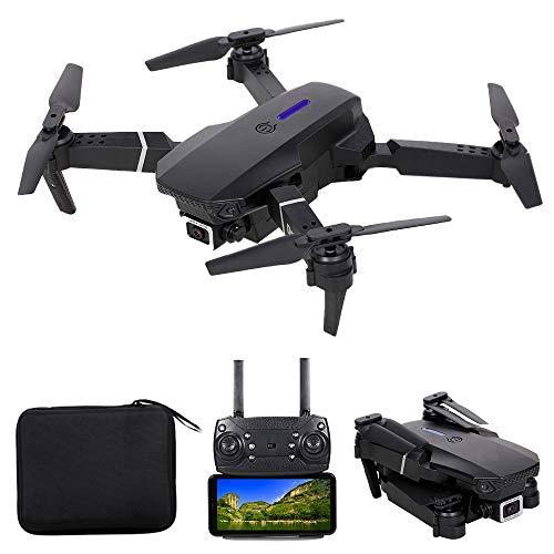 Goolsky LS-E525 Drone RC con Fotocamera 4K Fotocamera WiFi FPV Drone modalità Senza Testa Altitudine Tenere Gesto Foto Traccia Video Volo 3D Filp RC Qudcopter
