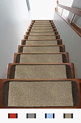 Antep Rugs Safe Steps Collection Non Slip Area Rug Stair Tread Double