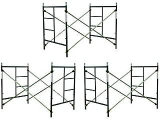 3 Sets of Scaffolding masonry Box frames 5' x 5' x 7' Scaffold CBM1290