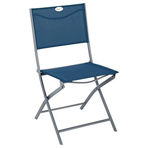 Hespéride Chaise Pliante Modula Indigo/Quartz