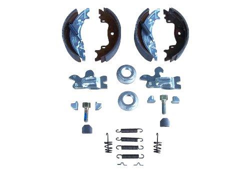 Bremsbacken Knott 200x50mm, Komplettsatz