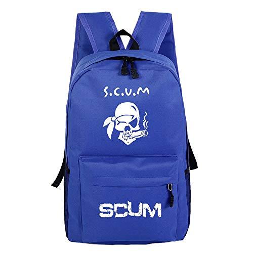 Unisex SCUM Rucksack mit Spieldruck, für die Schule A09 32 X 16 X 46cm