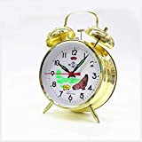 Chicken Vintage Mechanical Wind Up Twin Bell Alarm...