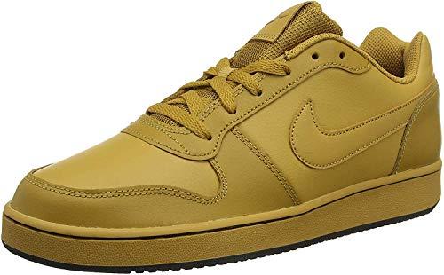 Nike Ebernon Low, Zapatos de Baloncesto Hombre, Beige (Wheat/Wheat/Black 700), 39 EU