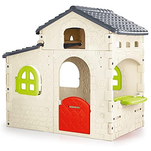 FEBER - Candy House, Casita infantil para el jardín (Famosa 800012221)