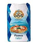 Antimo Caputo Blue Pizzeria Flour 55 LB Blue Bulk Bag - Italian Double Zero 00 - All Natural Wheat for Authentic Pizza Dough, Bread, & Pasta