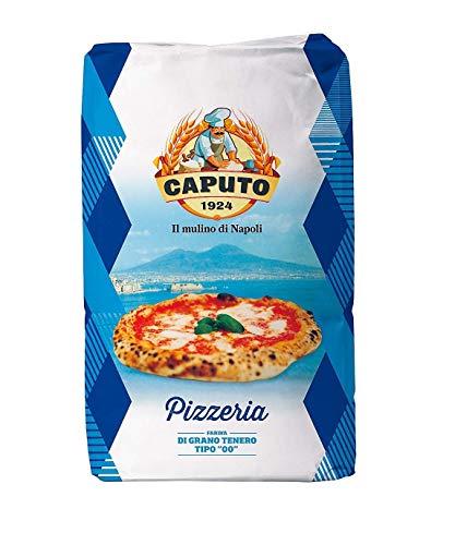 Antimo Caputo, Pizzeria Flour 55 LB Blue Bulk Bag Italian Double Zero 00 All Natural Wheat for Authentic Pizza Dough Bread Pasta (Pack of 2)