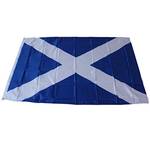 Vovotrade 3x5 Schottland Kreuz Flagge St. Andrew Banner Saltire Scottish Wimpel New