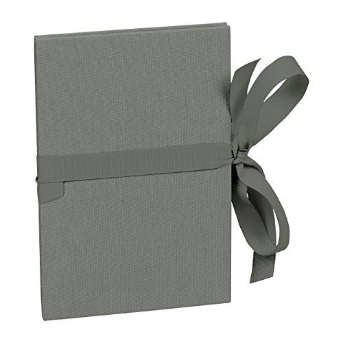 Semikolon (353242) Leporello Grande A5 grey (grau) - Für 14 Bildern im Format 13 x 18 cm - Ziehharmonika-Fotobuch - Format: 15 × 21 cm
